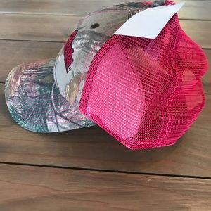 Accessories - Cute pink/camo BPS hat. Brand new w/tags!
